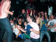 Wild Party in Amsterdam Red Light District