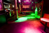 Winston Club Showcase in Red Light District in Amsterdam